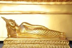 Reclining Buddha image Stock Photos