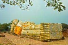Reclining Buddha image. Royalty Free Stock Image