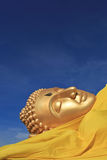 Reclining Buddha image Stock Photo