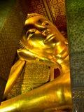 Reclining Buddha Image at Wat Pho Temple, Thailand Stock Photography