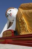 Reclining Buddha - Monywa - Myanmar Stock Photo