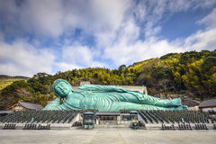 Reclining Buddha Of Fukuoka Royalty Free Stock Image