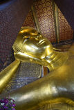 A reclining buddha Stock Photos