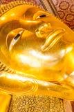 Reclining Buddha statue Stock Image