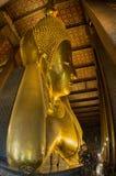 Reclining Buddha statue royalty free stock photos