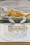 Reclining Buddha statue in Seema Malaka Temple in  Royalty Free Stock Photography