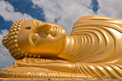 Reclining Buddha statue, Thailand Stock Photo