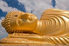 Reclining Buddha Statue, Thailand Stock Photo