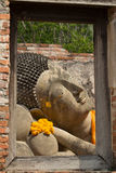 Reclining of buddha Royalty Free Stock Photos