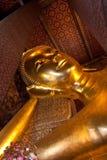 Reclining buddha stupa Royalty Free Stock Image