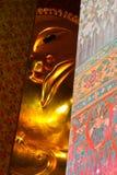 Reclining Buddha of Thailand Stock Images