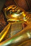 Reclining Buddha of Thailand Royalty Free Stock Photography