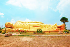Reclining Buddha Royalty Free Stock Images