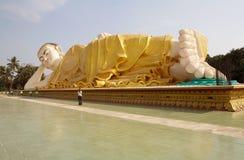 Reclining Buddha Stock Image