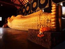 Reclining Buddha, Wat Chedi Luang, Chiang Mai Stock Photography