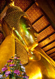 Reclining Buddha at Wat Pho Stock Images