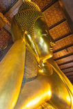Reclining Buddha in Wat Pho Stock Photography