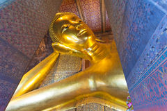 Reclining Buddha in Wat Pho Royalty Free Stock Photos