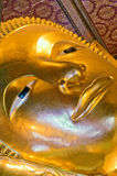 Reclining buddha, wat pho, bangkok Royalty Free Stock Images