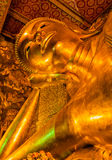 Reclining Buddha at Wat Pho, Bangkok Stock Photos