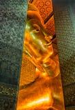 Reclining Buddha at Wat Pho, Bangkok Royalty Free Stock Photo
