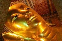 Reclining Buddha. Wat Pho Bangkok Thailand Royalty Free Stock Photo