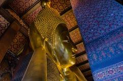 Reclining Buddha at Wat Pho Royalty Free Stock Images