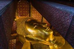 Reclining Buddha at Wat Pho Royalty Free Stock Image