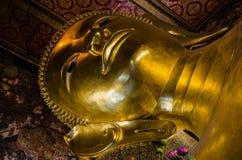 Reclining Buddha at Wat Pho Royalty Free Stock Photo