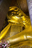 Reclining Buddha at Wat Pho Royalty Free Stock Photo