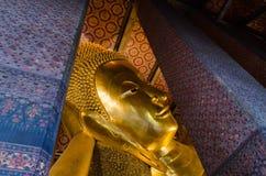 Reclining Buddha at Wat Pho Stock Image