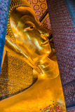 Reclining buddha Wat Pho temple bangkok thailand Royalty Free Stock Photos