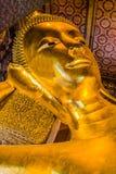 Reclining buddha Wat Pho temple bangkok Thailand Royalty Free Stock Image