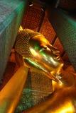 Reclining Buddha at Wat Pho, Thailand Stock Images