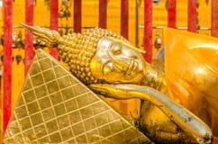 Reclining Buddha at Wat Phra That Doi Suthep Royalty Free Stock Photos