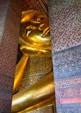 Reclining Buddha at Wat Po Thailand Stock Images