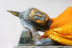 Reclining buddha in Wat Thai Stock Photos