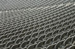Seats  on stage stadiums without people before the live concert Stock Photos