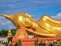 reclining för buddha bild royaltyfria foton