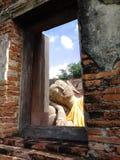 reclining för buddha bild Royaltyfri Fotografi