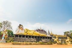 Reclining image of Buddha Stock Photos