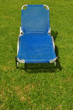 Reclining lawn chair Stock Photography