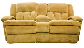 Reclining Loveseat Royalty Free Stock Photos