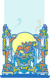 Reclining Maya 4 Royalty Free Stock Image