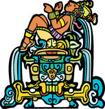 Reclining Mayan Royalty Free Stock Photo