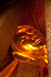reclining thailand för buddha pho wat Royaltyfria Foton