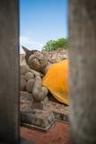 Reclinning Bouddha Image stock