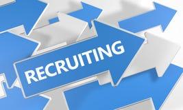 reclutamento Immagini Stock