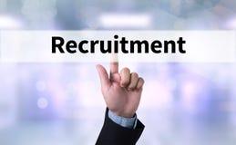 reclutamento Fotografia Stock