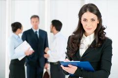 Reclutamento di intervista di job Immagine Stock Libera da Diritti